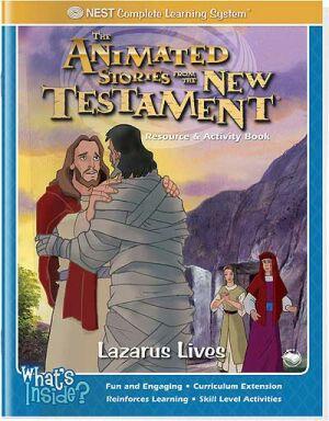 NT Lazarus is alive color activity book