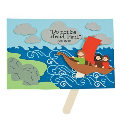 New Testament crafts Paul shipwrecked boat