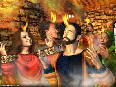 Fire Pentecost story download teacher resource