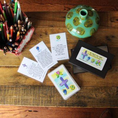 40 days of Lent devotion cards kids