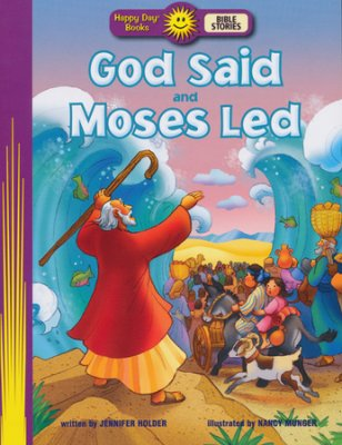 Exodus Moses and God story book