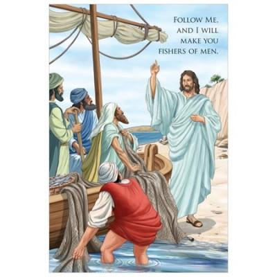 Fishers of Men Jesus poster