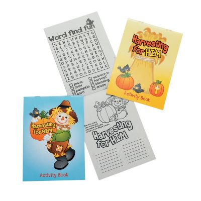 Religious Fall Activity mini books kids