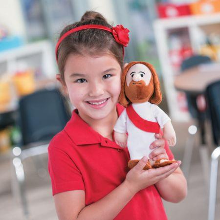 Plush Jesus Christ doll