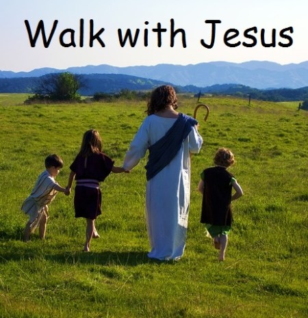 Walk with Jesus picture