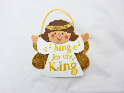 Religious Christmas angel craft kits for kids