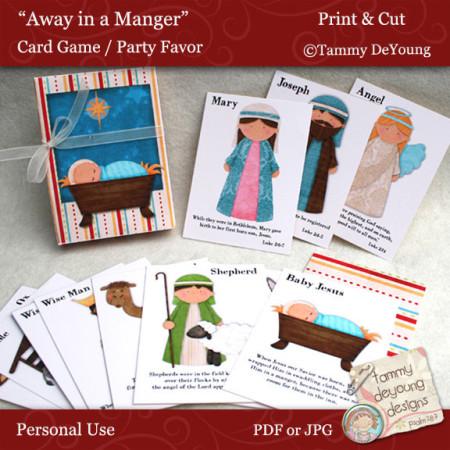 Christian Christmas card game download