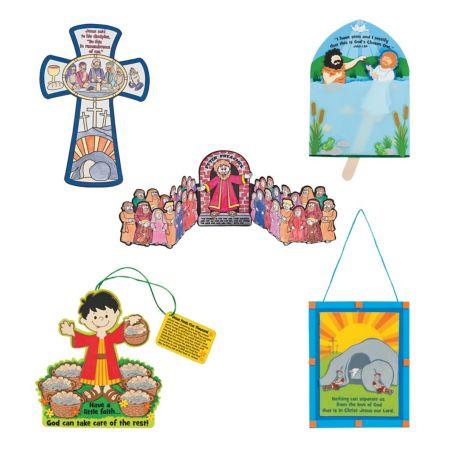 Sunday school Bible story crafts
