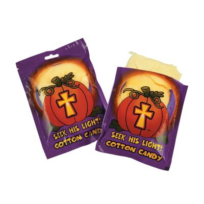 Halloween Pumpkin Prayer cotton candy