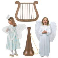 Religious angel accessories costumes kids