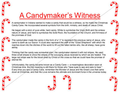 Christmas candy cane story download