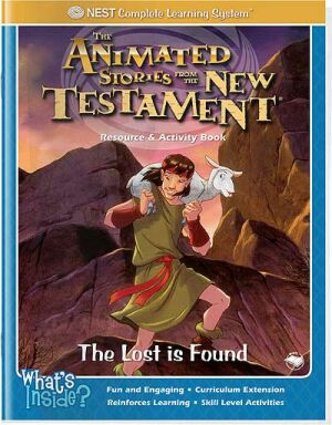 Printable Lost Sheep Found Bible story activity book