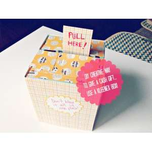 Catchy Cash Gift Box Mom S 65th Money Ideas From Daughter Diy Birthday