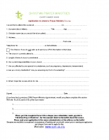 application form set