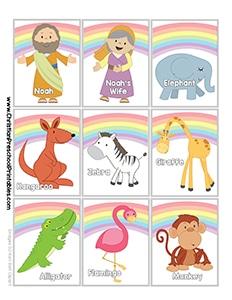 Noah S Ark Preschool Printables Christian Preschool Printables