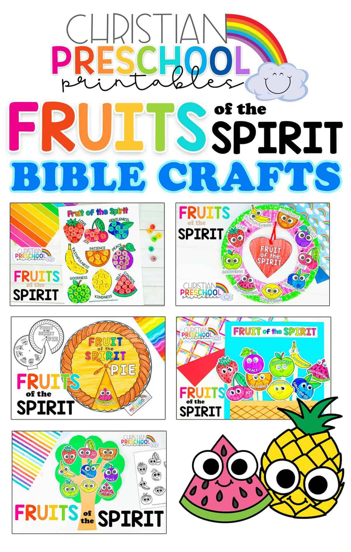 Fruitofthespiritbibleprintables