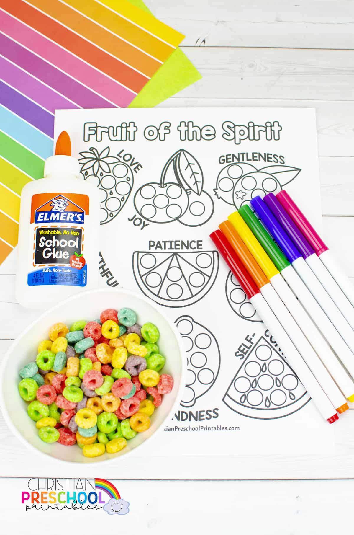Fruitofthespiritcoloringpage