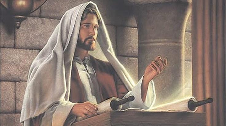 Jesus and torah - jesus reading