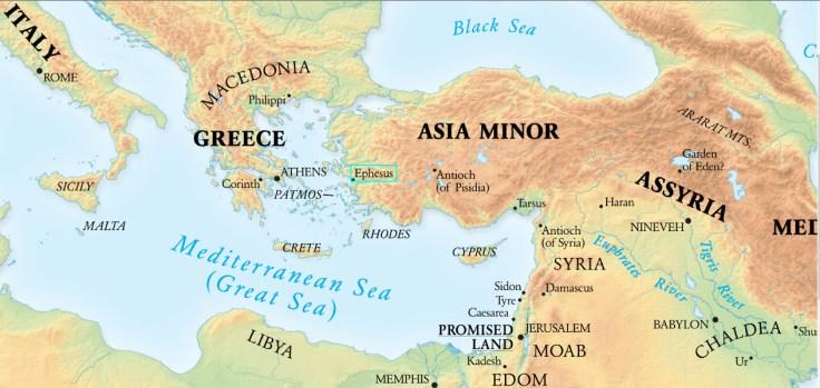 Ephesus in Asia Minor