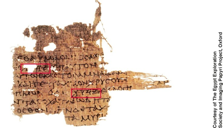Oxyrhynchus Papyrus 3522