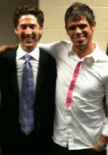 Steven Furtick and Joel Osteel