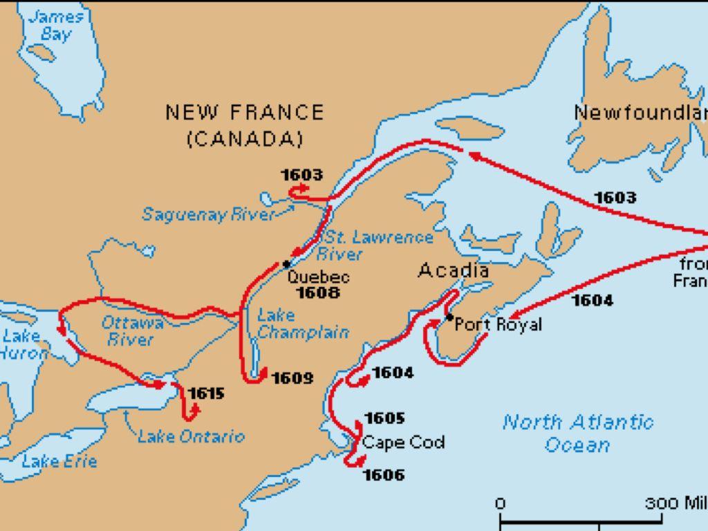 Champlain's Voyages