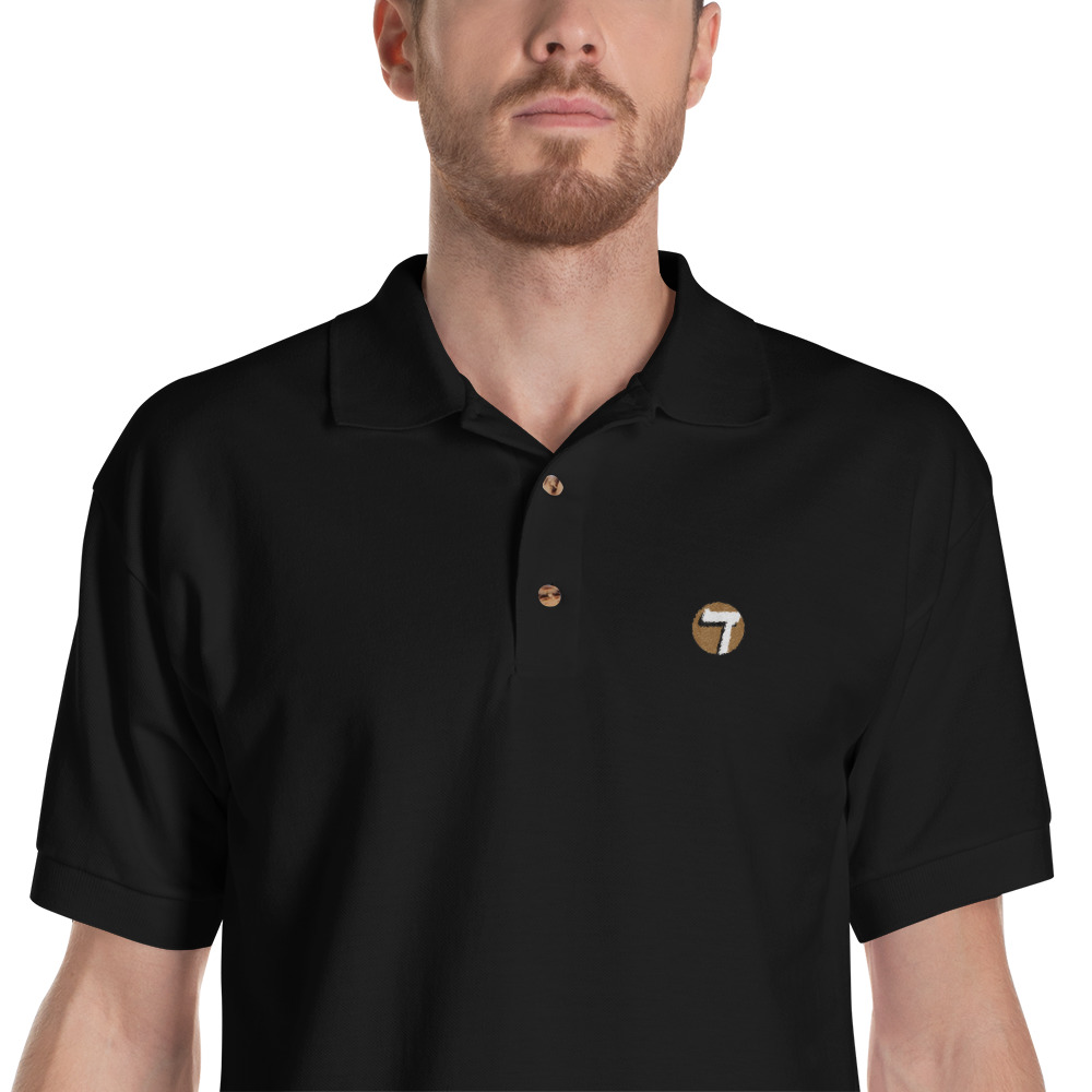 Seven Talents Embroidered Polo Shirt