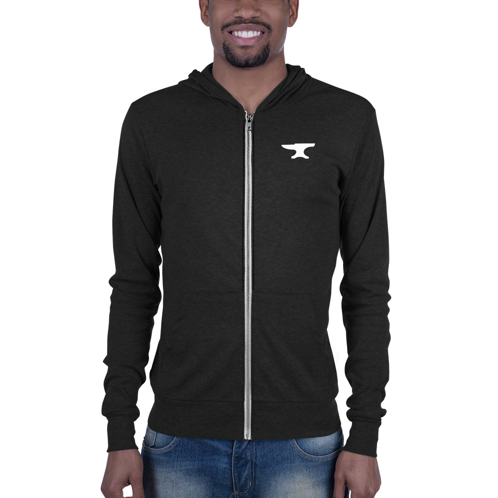 Blacksmith Shoppe Unisex zip hoodie