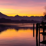 Calm Morning over Lake Lucerne