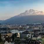 Luzern im Abendlicht