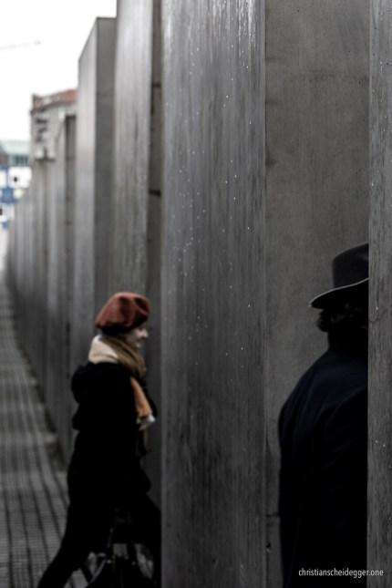 im Holocaust-Mahnmal