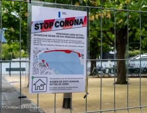Stop Corona - Quai Luzern