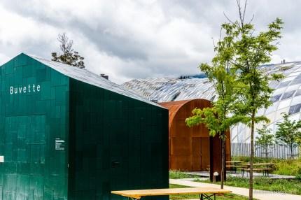 Buvette und Pavillon Schüssinsel, Biel
