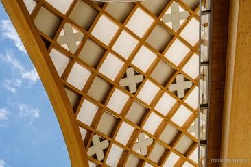 Untersicht Decke Swatch-Gebäude
