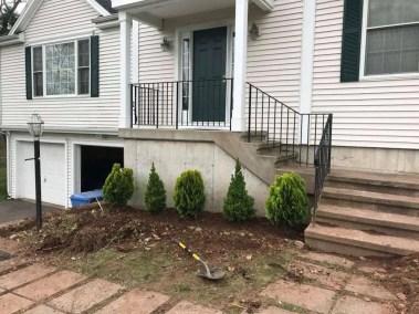 Landscape Design Stairs & Shrubs.6