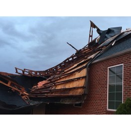 Storm Blows Roof Off Church in Tennessee (Plus News Briefs)