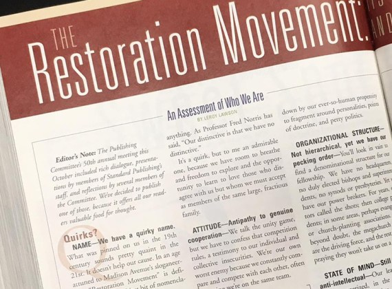 The Restoration Movement: Its Vitality, Quirks, and Needs in the 21st Century