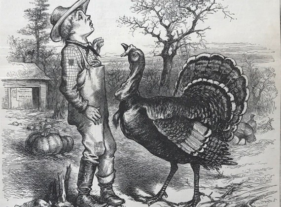 A Thanksgiving Editorial from 1881