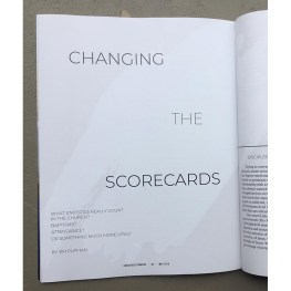 Changing the Scorecards