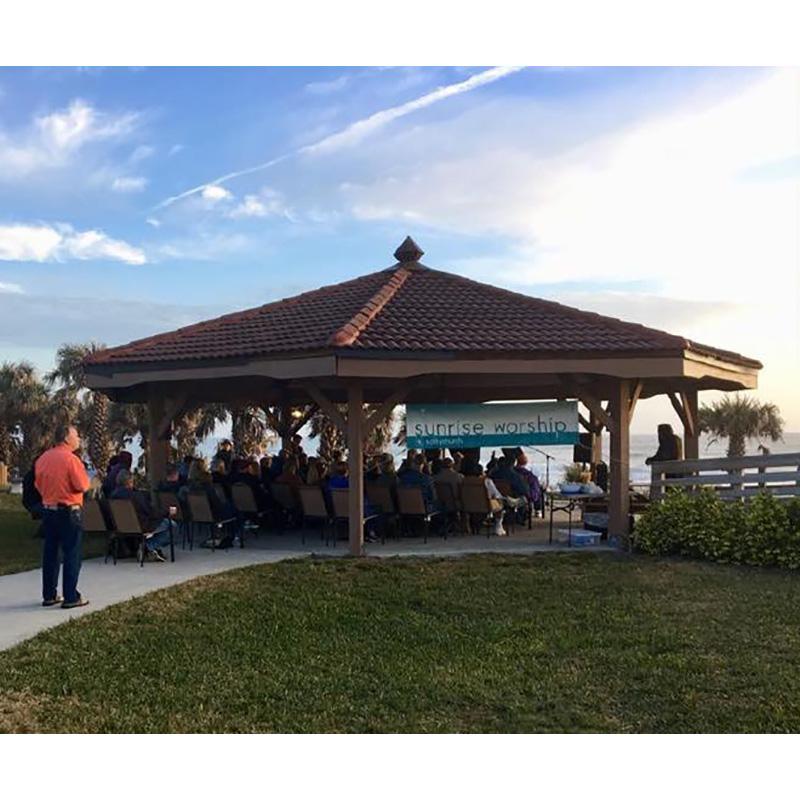 Salty Church Marks 9 Years of Sunrise Services on Beach (Plus News Briefs)