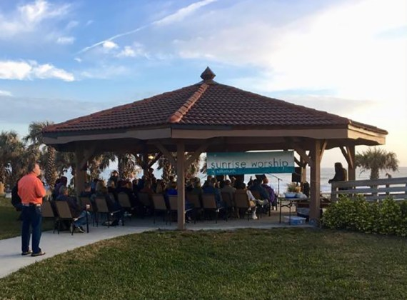 Salty Church Marks 9 Years of Sunrise Services on Beach (Plus News Briefs)