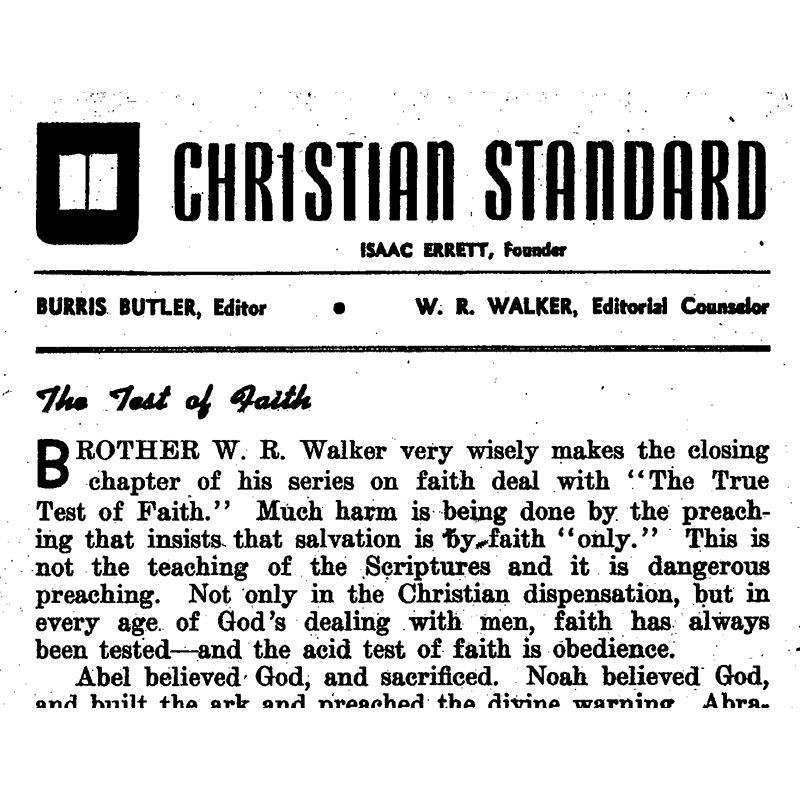 The True Test of Faith