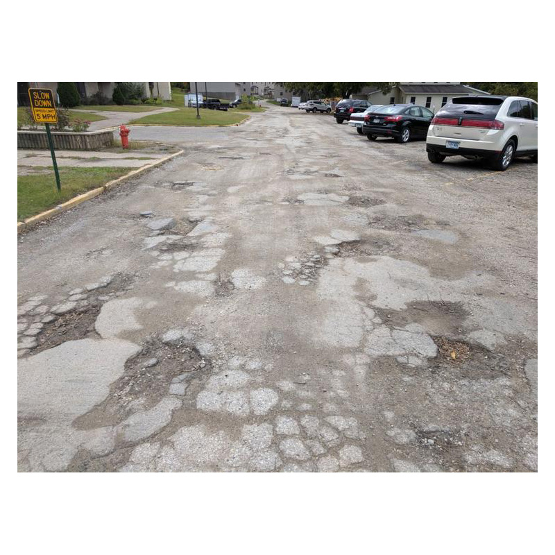 Church Seeks Help to Fix Road at former Crossroads College Site