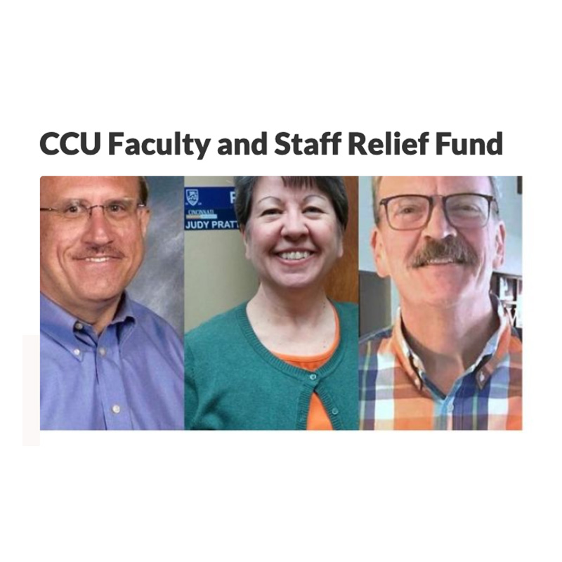 CCU Faculty, Staff Relief Fund Started on GoFundMe