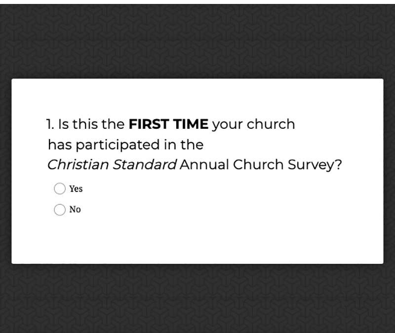 Leaders Encouraged to Participate in our Annual Church Survey
