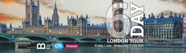 6-Day London Tour 2016
