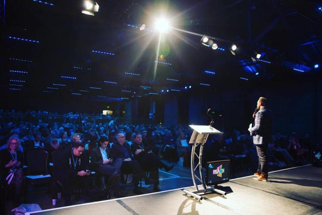 Jeremiah Johnston speaking at Premier Digital Conference