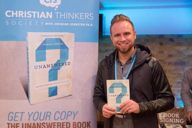 Jeremiah Johnston, author of Unanswered: Lasting Truth for Trending questions