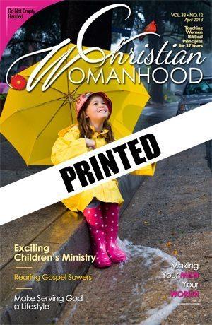 Christian Womanhood Printed Subscription
