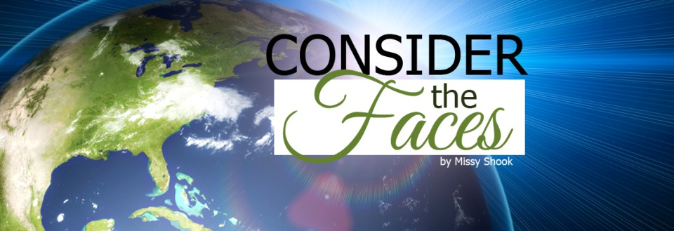 consider the faces by missy shook